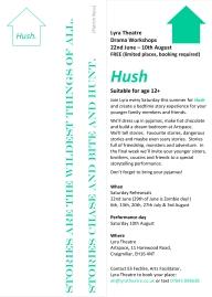 hush bookmark