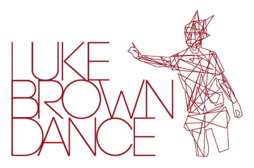 luke brown dance red