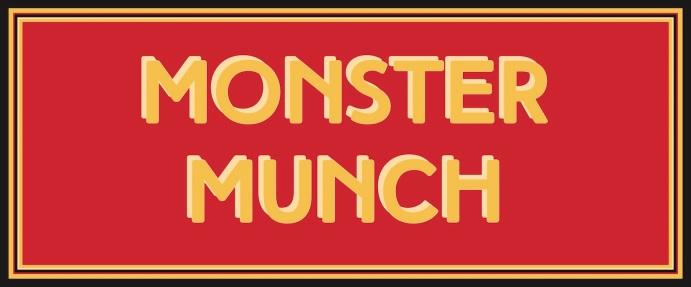 32 - monster munch 120x50