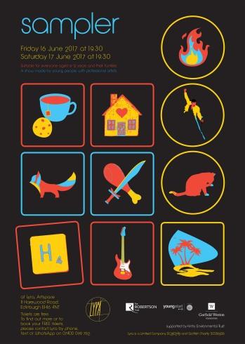sampler poster