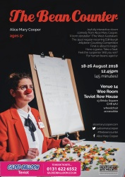 the bean counter A3 fringe 2018